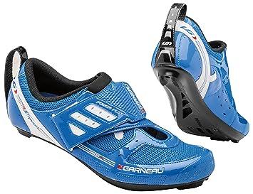 Louis Garneau Zapatillas de ciclismo para hombre Azul Bleu Curacao: Amazon.es: Deportes y aire libre