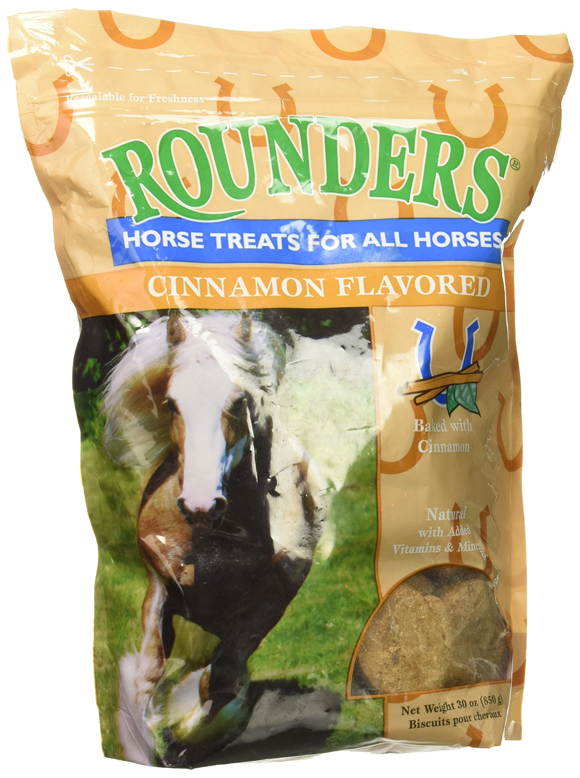 KENT NUTRITION GROUP-BSF 1520 Cinnamon Rounder's Horse Treat, 30 oz