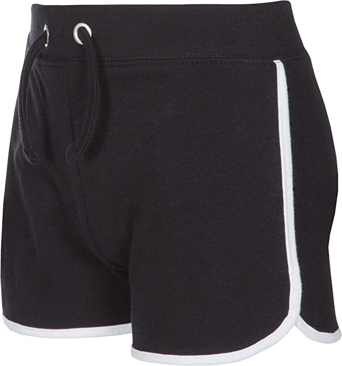 Red Melon Girls Cotton Jersey Shorts