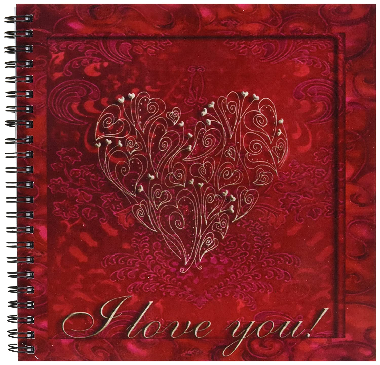 3dRosa DB DB DB 22451 _ 2 Gold Herz auf rot I Love You Memory Buch, 12 von 30,5 cm B00B9QX7YK | Ermäßigung  | München  | Große Auswahl  f9bf9b