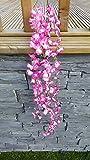 Fiori Artificiali (TM)-80cm Trailing Best Tralcio da piante Pink