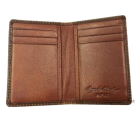 Amazon.com: Osgoode Marley RFID - Cartera de 8 bolsillos ...