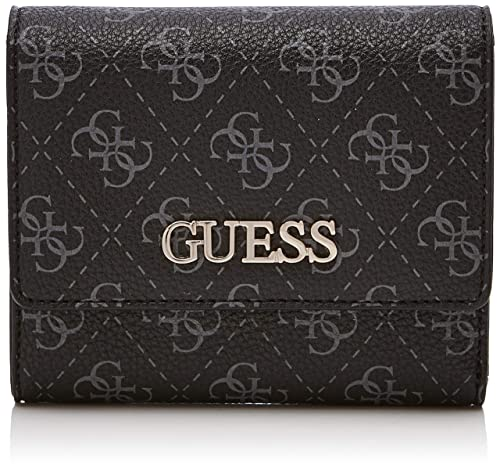 Guess - Maci Slg Small Trifold, Monederos Mujer, Gris (Coal ...