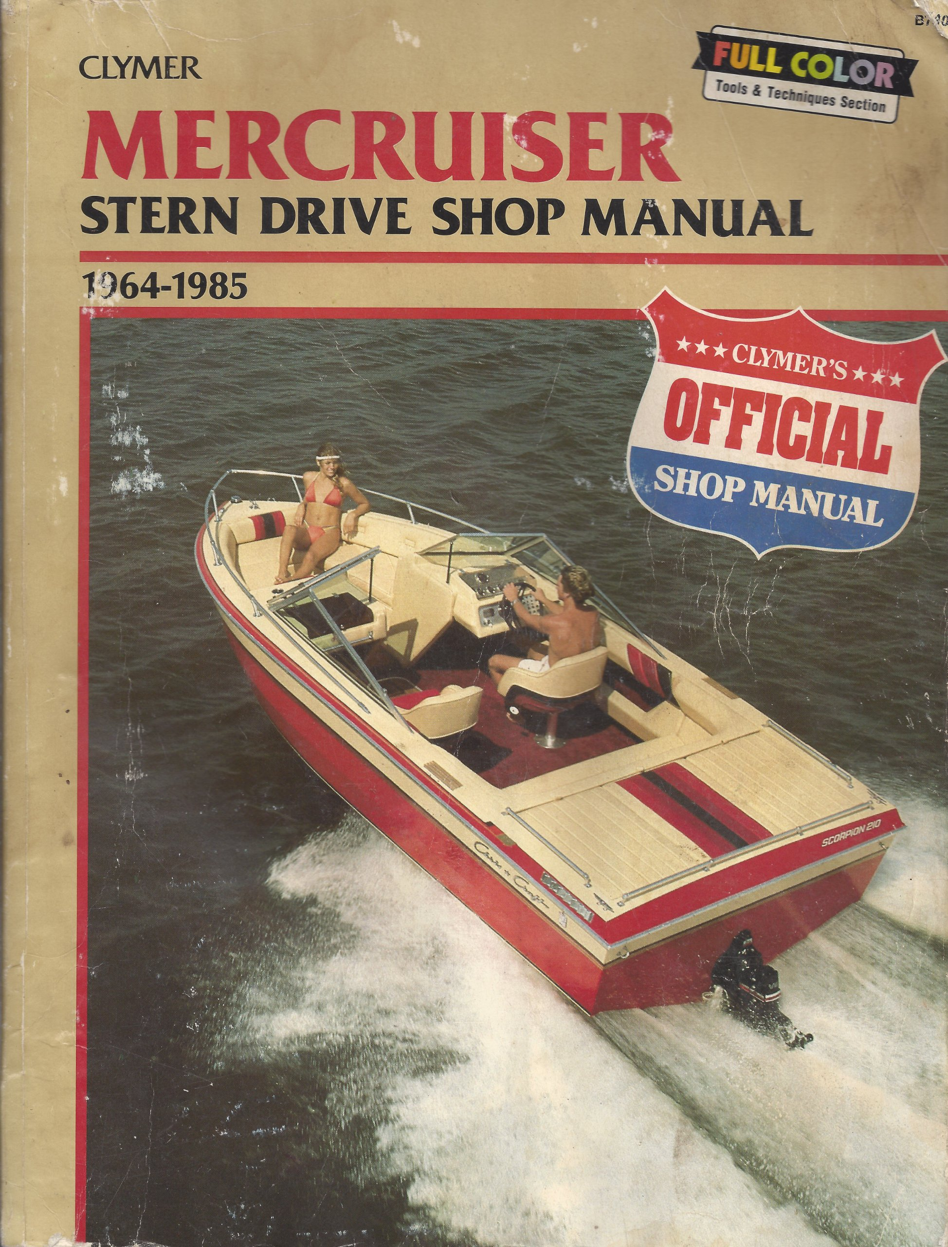 Mercruiser B740 Stern Drive Shop Manual, 1964-85: Includes 1986-87 TR and  TRS Models: Randy Stephens: 9780892873890: Amazon.com: Books