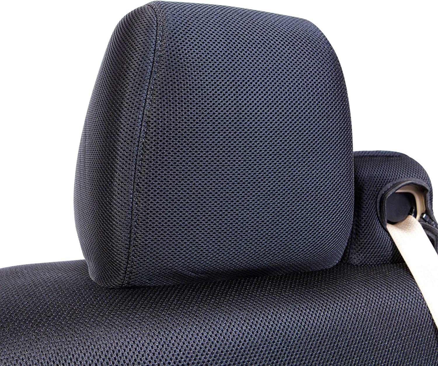 Gray Coverking Custom Fit Molded Seat Cover 1 Row Mesh Solid for Select Ford Models