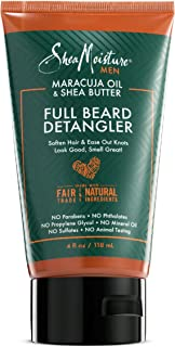 product image for Shea Moisture Mens Full Beard Detangler, All Natural ingredients, Maracuja Oil & Shea Butter, Soften Hair & Ease Out Knots for a Scuff-Free Beard, 4 Ounce