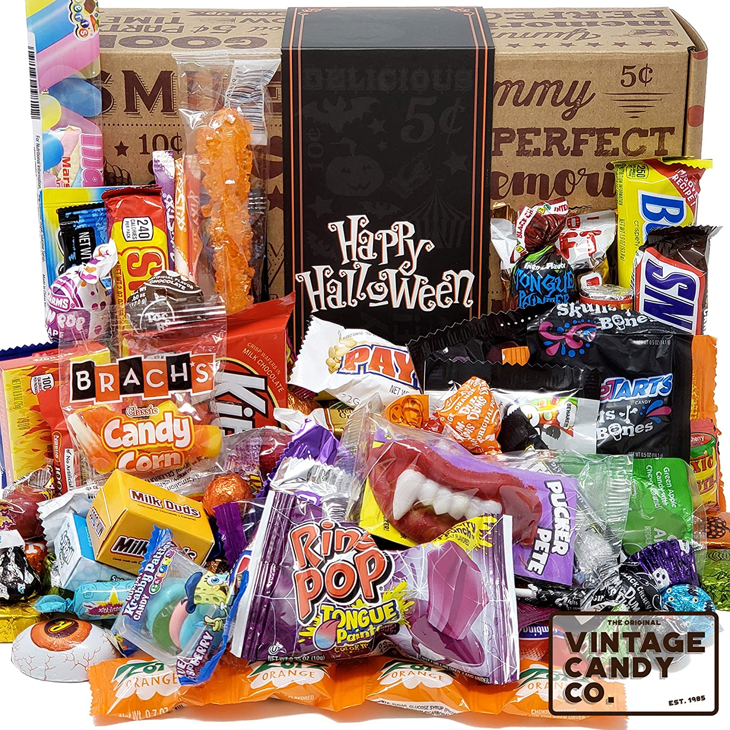 Best Halloween Packages 2020 Amazon.: HALLOWEEN CANDY CARE PACKAGE LOADED GIFT ASSORTMENT