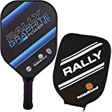 Pickleball Paddle - Rally Graphite Power 5.0   Honeycomb Core, Graphite/Polymer Hybrid Composite Face   Power, Control, Large