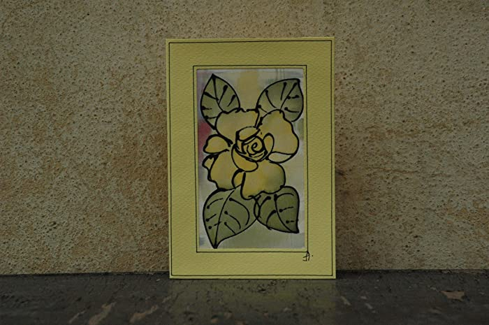 Amazon Com Sale 15 Off Romantic Yellow Rose Card Rose Birthday