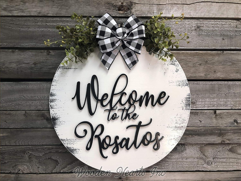 Personalized dogcat  wreaths for front door