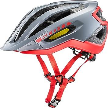 Scott Fuga Plus XC Bicicleta de montaña Casco Gris/Rojo 2018 ...