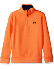 Under Armour Boys Storm SweaterFleece Qz Sudadera, Niños