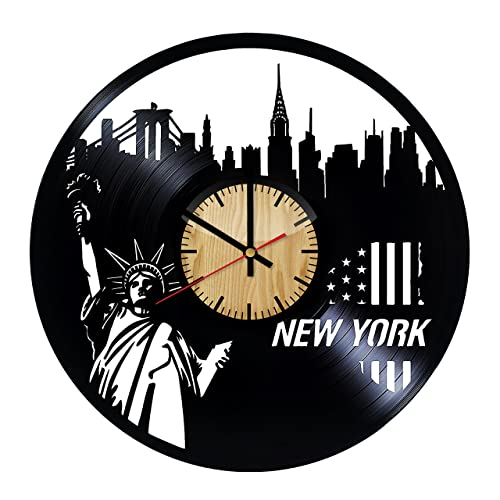 Amazon New York City Vinyl Wall Clock Handmade Gift For Any