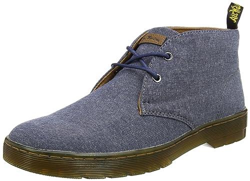 45699090e319 Dr martens mens mayport true navy chambray twill desert boots blue jpg  500x362 Mayport chambray