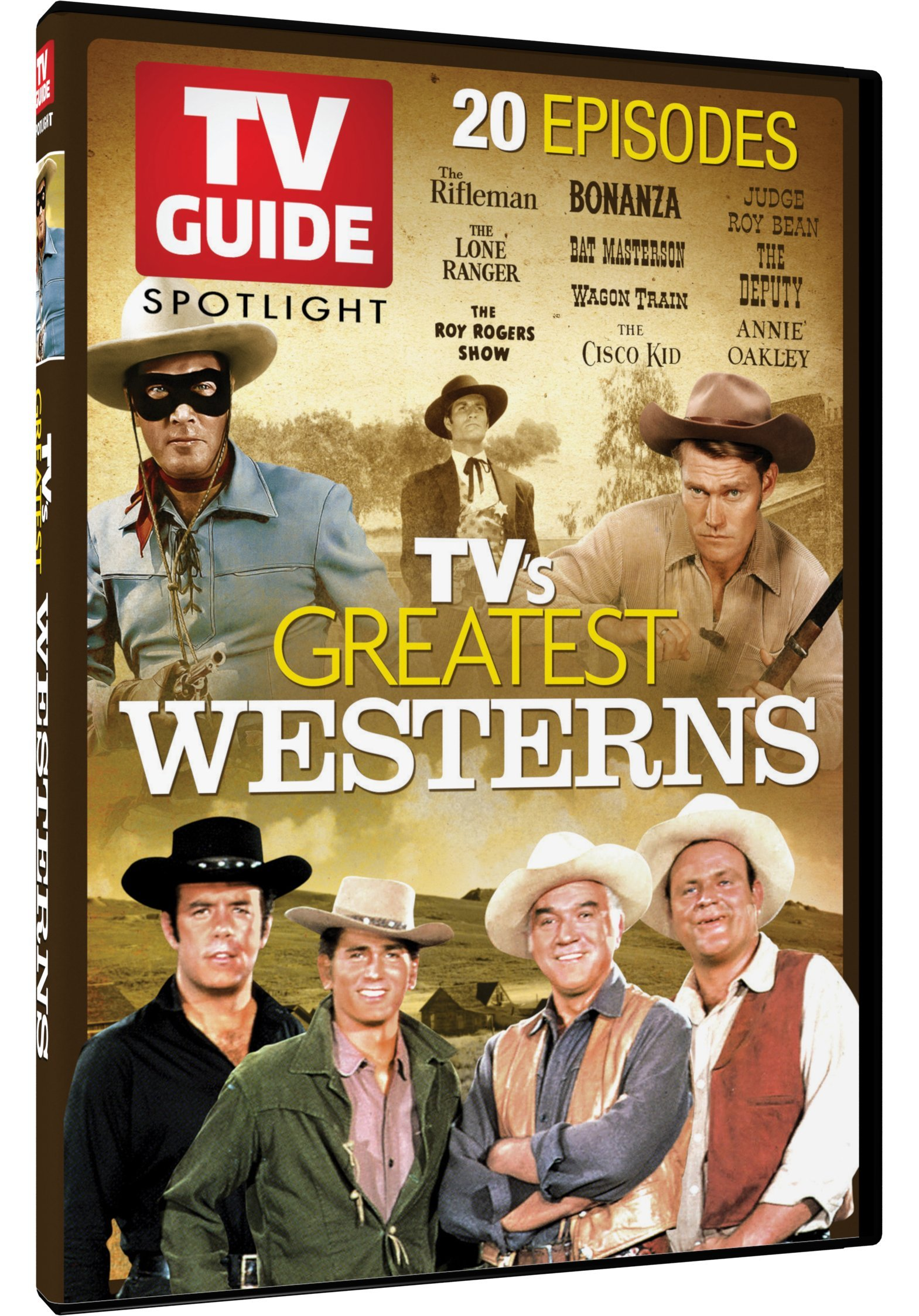 TV Guide Spotlight: Westerns (2 Pack, 2PC)