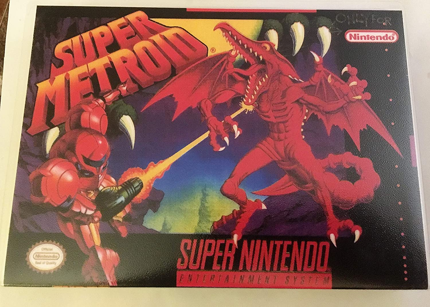 Amazon com: Super Metroid (Super Nintendo, SNES