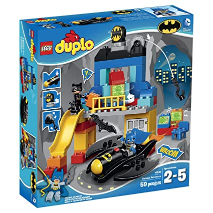Amazon.com: LEGO DUPLO Super Heroes Batcave Adventure 10545 Building ...