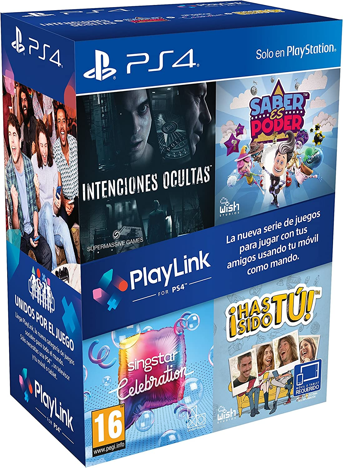 Pack PlayLink: Has Sido Tú / Singstar Celebration / Saber Es Poder ...