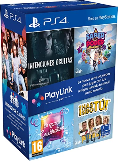 Pack PlayLink: Has Sido Tú / Singstar Celebration / Saber Es Poder ...