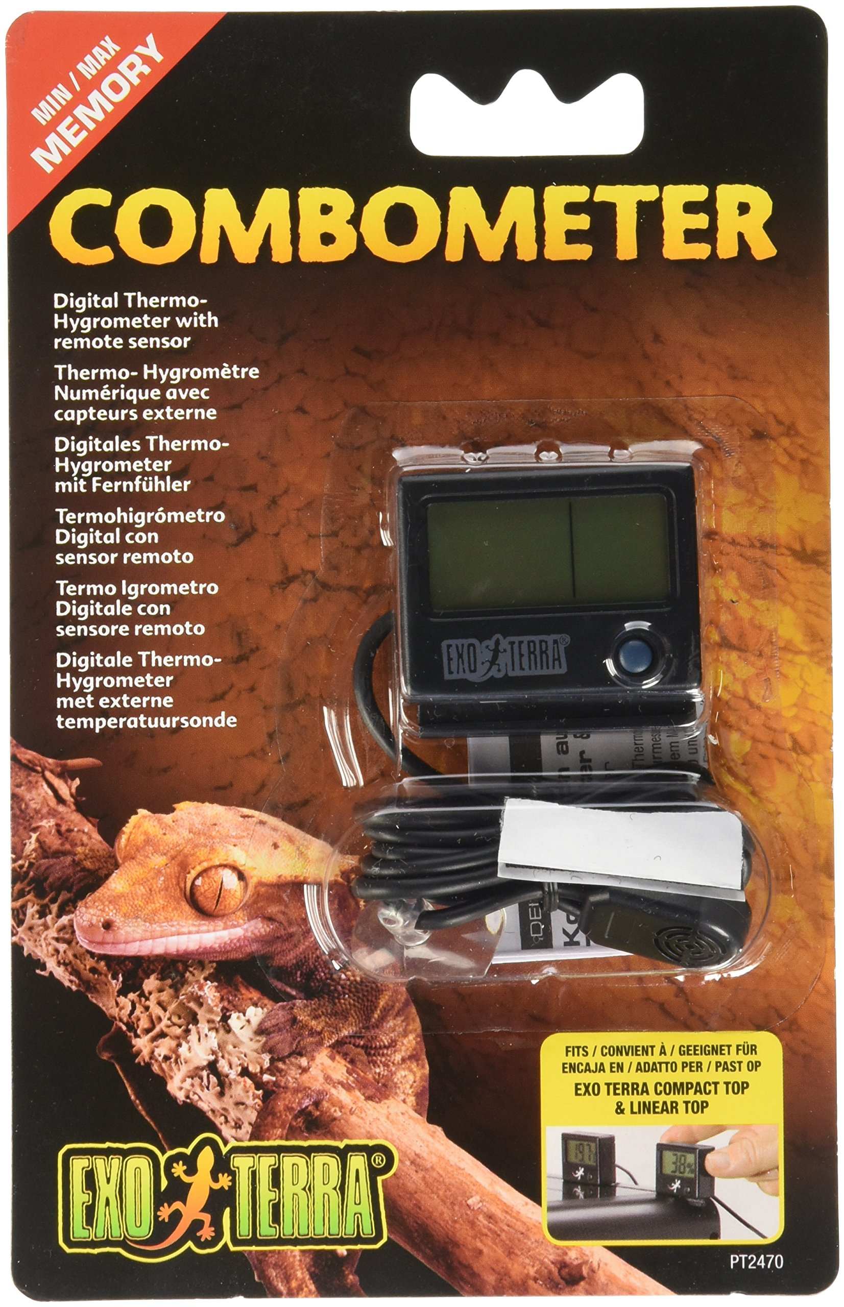 Exo Terra Digital Combination Thermometer/Hygrometer