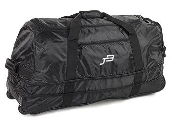 f66673bd21 JB Ultra léger 1,1kg! Pliable XL 120L élargissement A roulettes Voyage  Duffle Sac