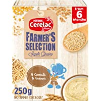 Nestle CERELAC Farmer's Selection 5 Cereals and Quinoa Infant Cereal From 6 Months 250g