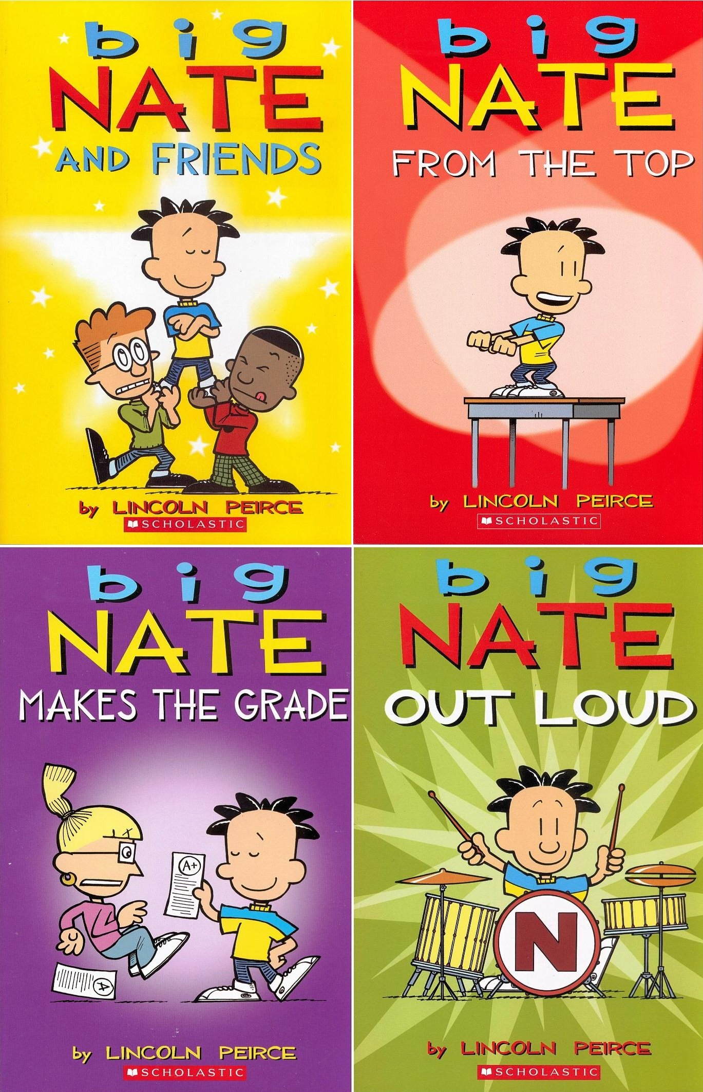 big nate out loud read online