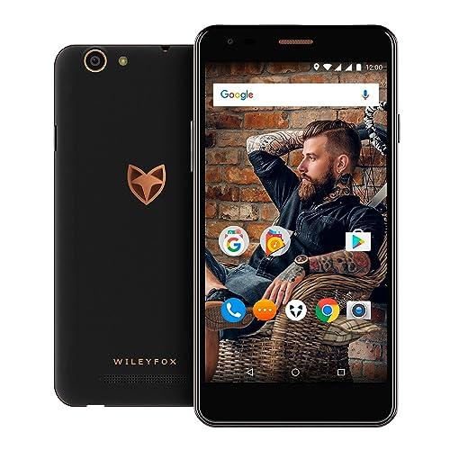 "Wileyfox Spark X 16GB with 2GB RAM 5.5"" HD (Dual SIM 4G) SIM-Free Smartphone Android - Black"