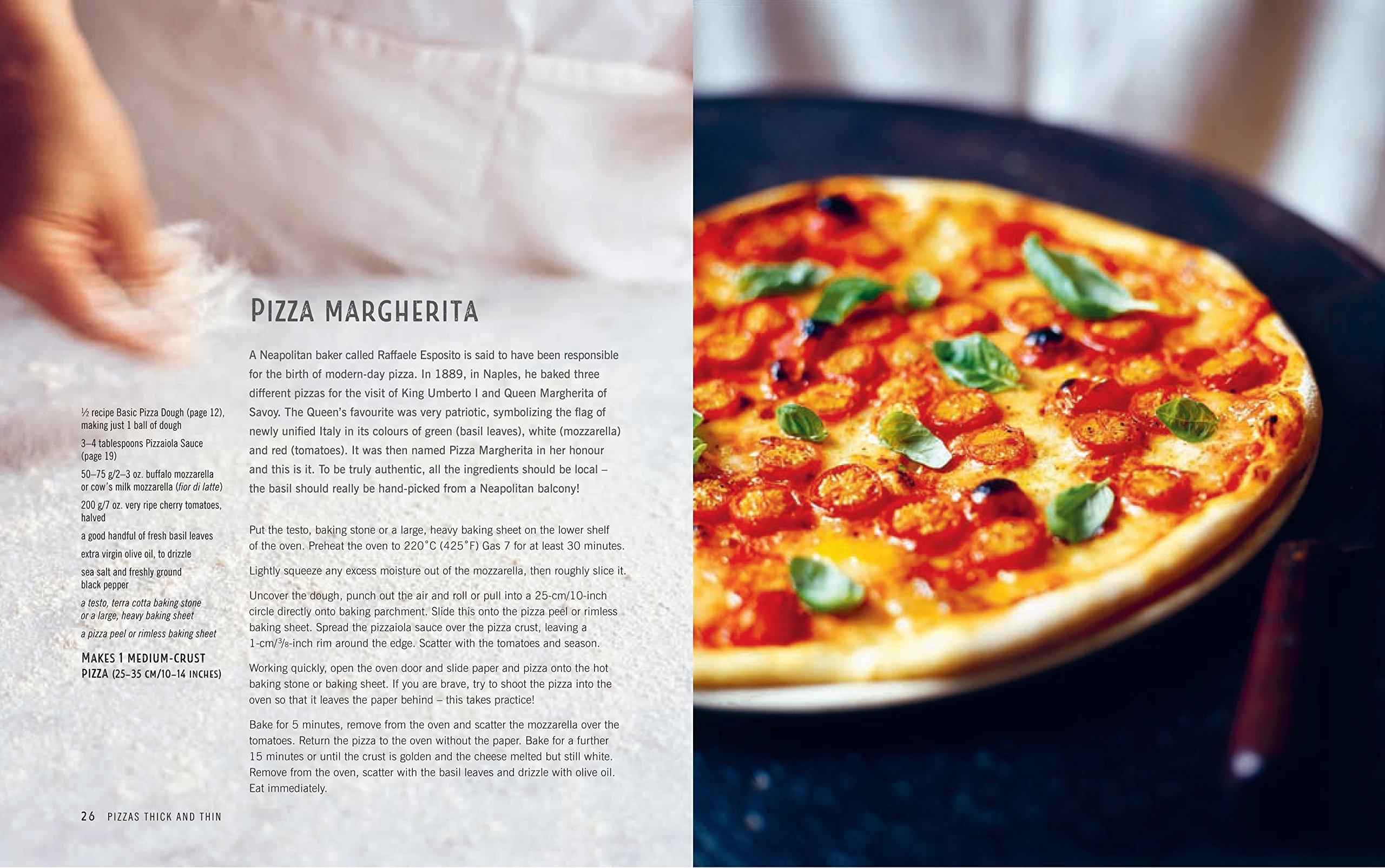 Craft Pizza: Homemade classic, Sicilian and sourdough pizza, calzone and focaccia: Maxine Clark: 9781849757614: Amazon.com: Books