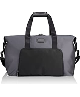 bbd03cb62aa Tumi Alpha 2 Double Expansion Travel Satchel Duffel Bag, Pewter, One Size