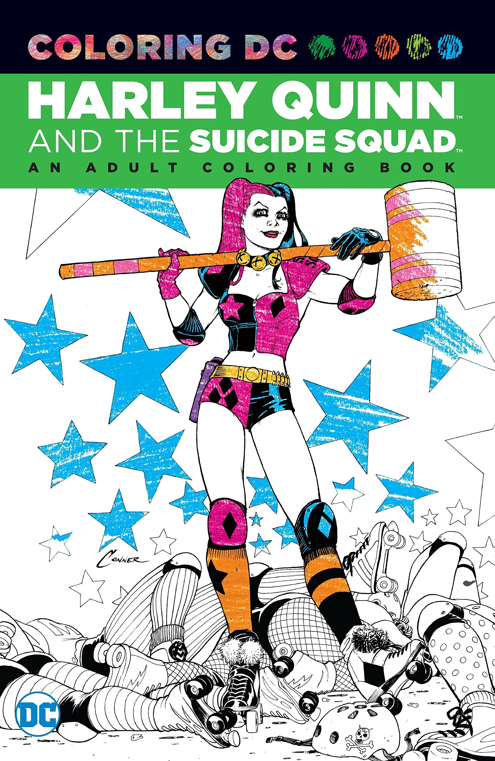 - Amazon.com: Harley Quinn & The Suicide Squad: An Adult Coloring