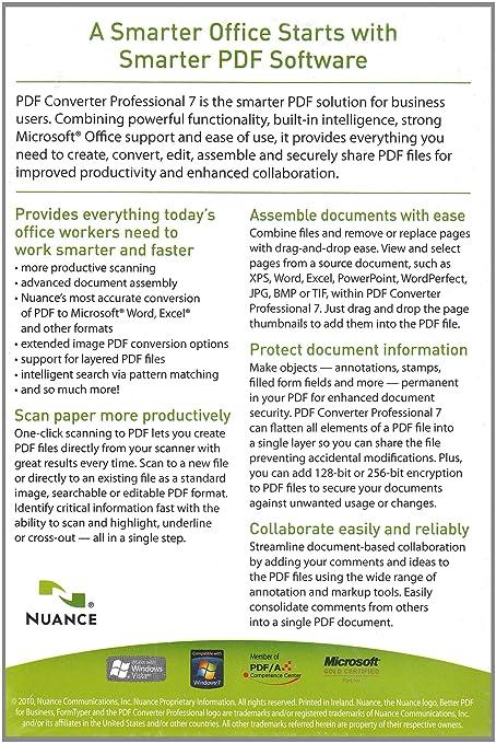 PDF Converter Professional 7 0 (PC)