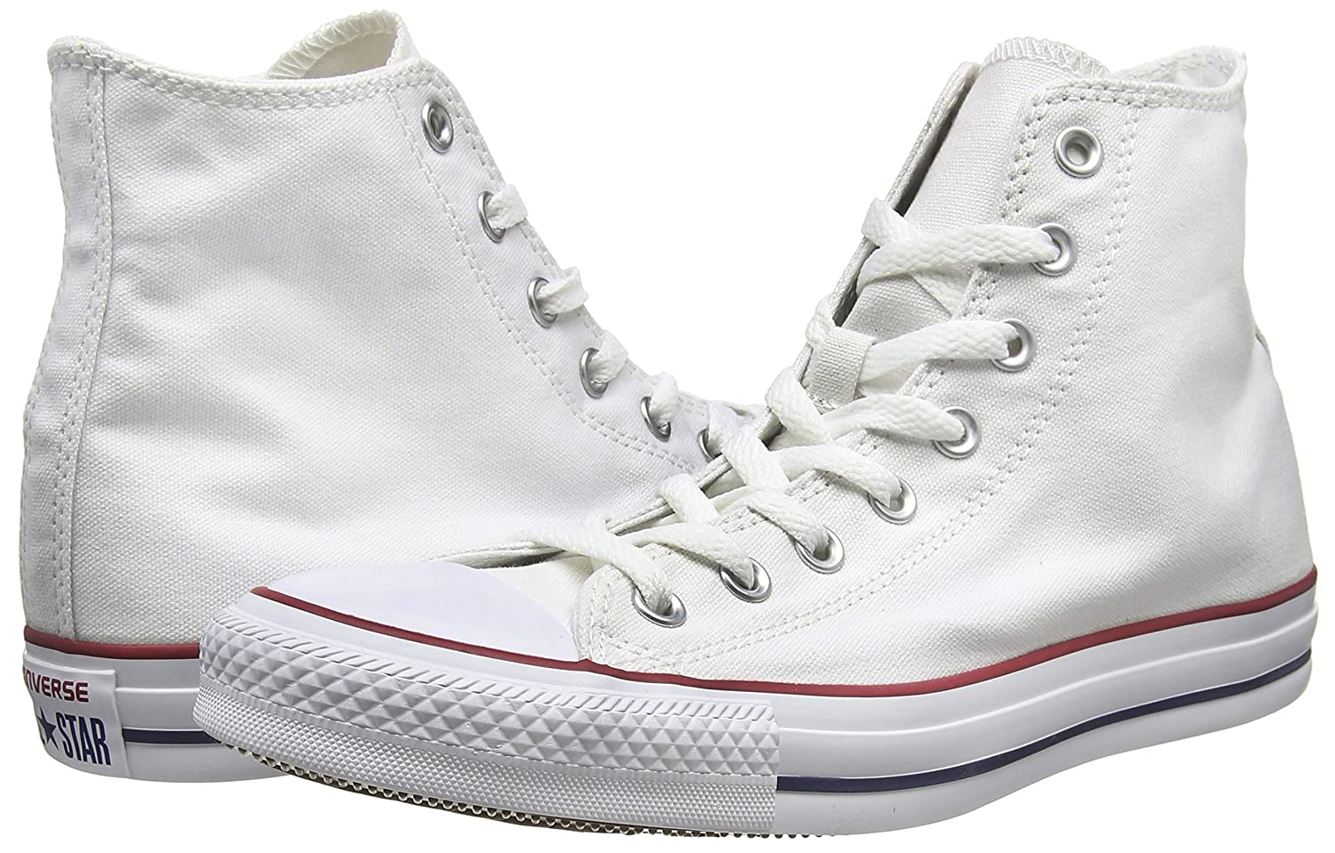 Converse Unisex Chuck Sneakers Taylor All-Star High-Top Casual Sneakers Chuck in Classic Style and Color and Durable Canvas Uppers B07996PQKJ 8 B(M) US Women / 6 D(M) US Men|Optical White ff6bb0