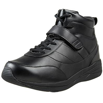 Drew Shoe Men's Pulse Sneaker,Black Calf,7 ...