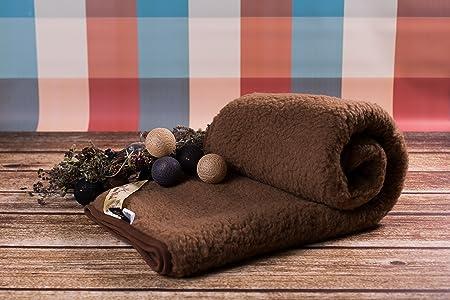 Merino Wool NATURAL BLANKET THROW NEW BROWN KING SIZE BLANKET 40 X Enchanting Merino Wool Blanket Throws