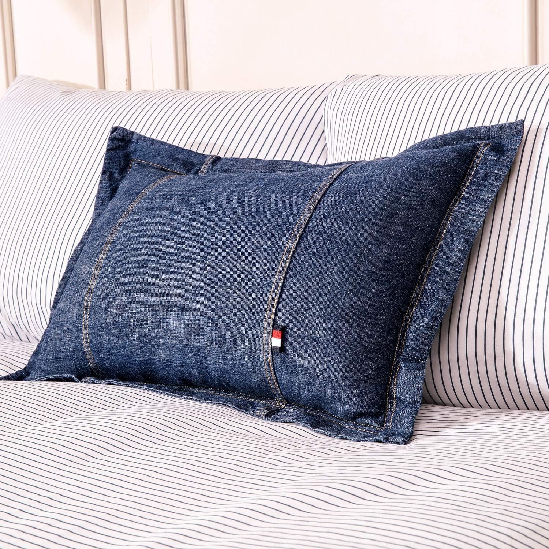 Match Denim Blue Pillow Collection