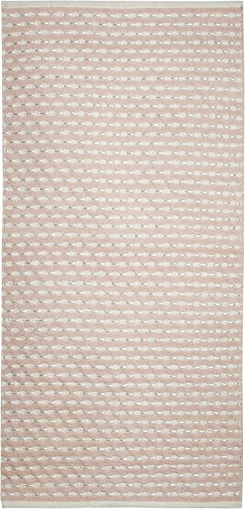 Yute & Co. Samoa Alfombra Tejida a Mano, algodón, Beige, 70 x 150 cm: Amazon.es: Hogar