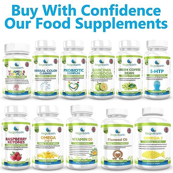 La vitamina D3 10000 UI de alta resistencia Cápsulas Suplementos vegetarianas para los hombres y de las mujeres - Energía, huesos, dientes, corazón, ...
