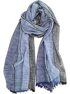 Celio RIFACE, Foulard Homme, (Bleu), Unique (Taille Fabricant  TU ... 9b6e3c4d662