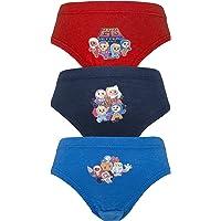 Cartoon Character Products Cbeebies Paquet de 3 Garçons Go Jetters Pantalons/Slips Motifs Variés 18 Mois - 5 Yer