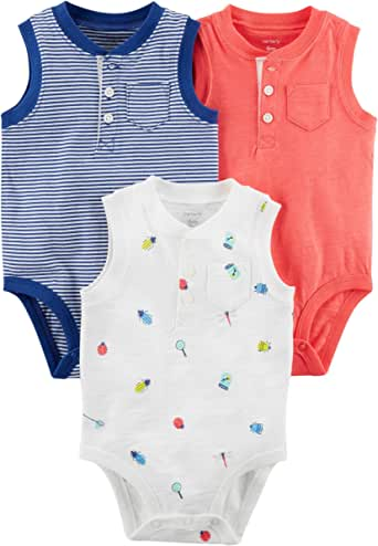 Carter's 3 Pack Assorted Bodysuits