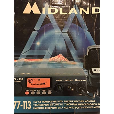 midland cb 77-113 LCD can transceiver with built-in weather monitor.: GPS & Navigation