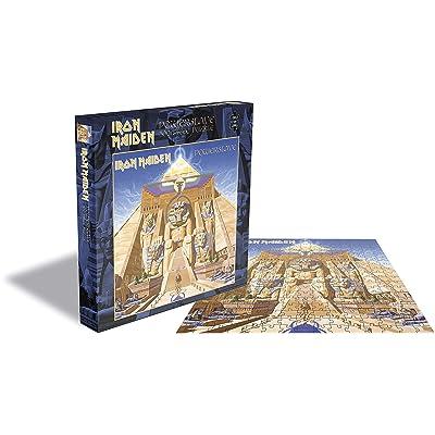 Iron Maiden Puzzle Powerslave Merchandise Puzzles: Toys & Games