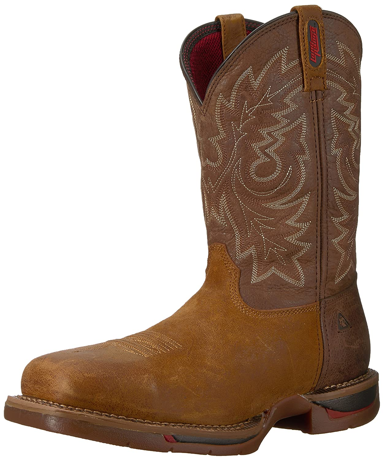 Amazon.com | Rocky 6132 Long Range Carbon Fiber Toe Western Mens Work Bootsts | Western