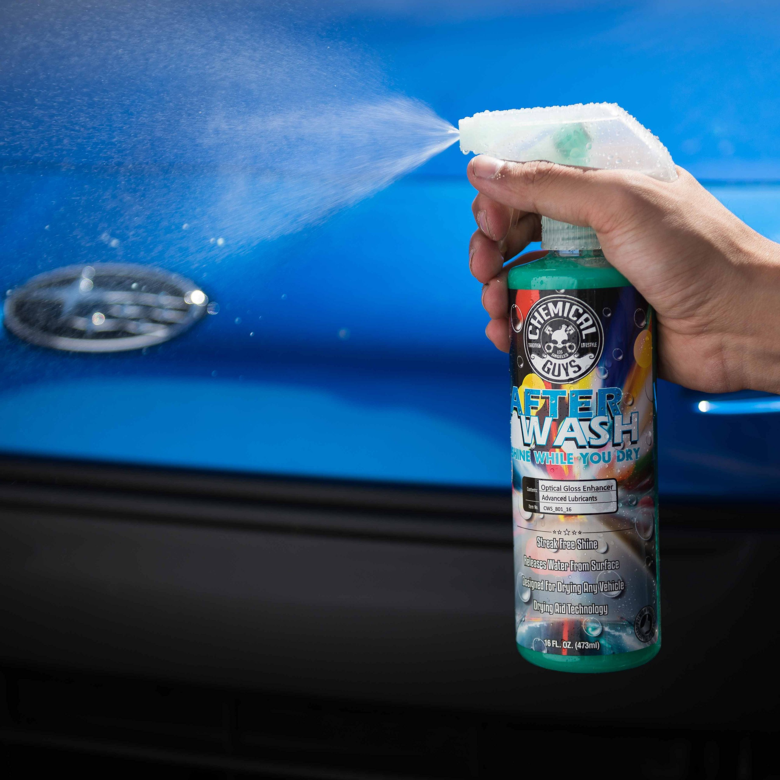 Chemical Guys CWS_801 After Wash Shine While You Dry Drying Agent with Hybrid Gloss Technology (1 Gal)