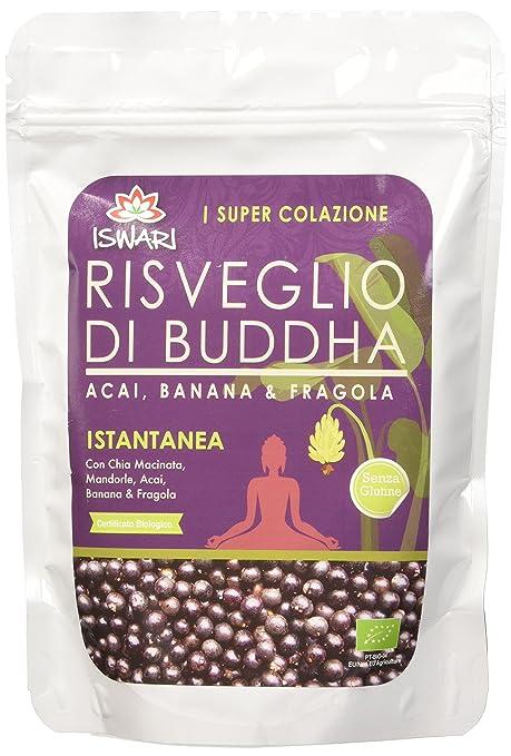 3 opinioni per Iswari Risveglio di Buddha Acai, Fragola e Banana Bio- 360 gr