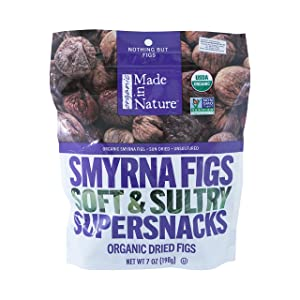 Made in Nature Organic Berries (Smyrna Figs, 7oz (Pack of 1))