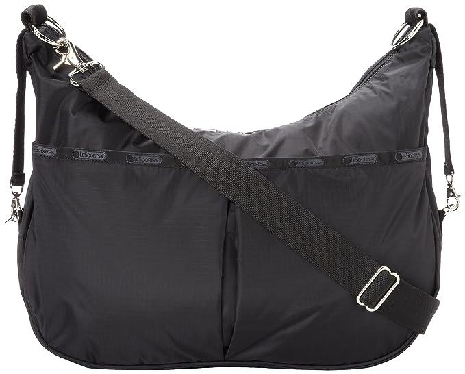 Amazon.com: LeSportsac Jessi bebé bolso de hombro, negro ...