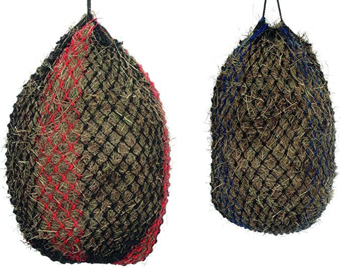 """FREE P/&P Deluxe Small Hole 2/"""" Mesh Haynet Haylage Net 40/"""" length Qty 1 Black"""