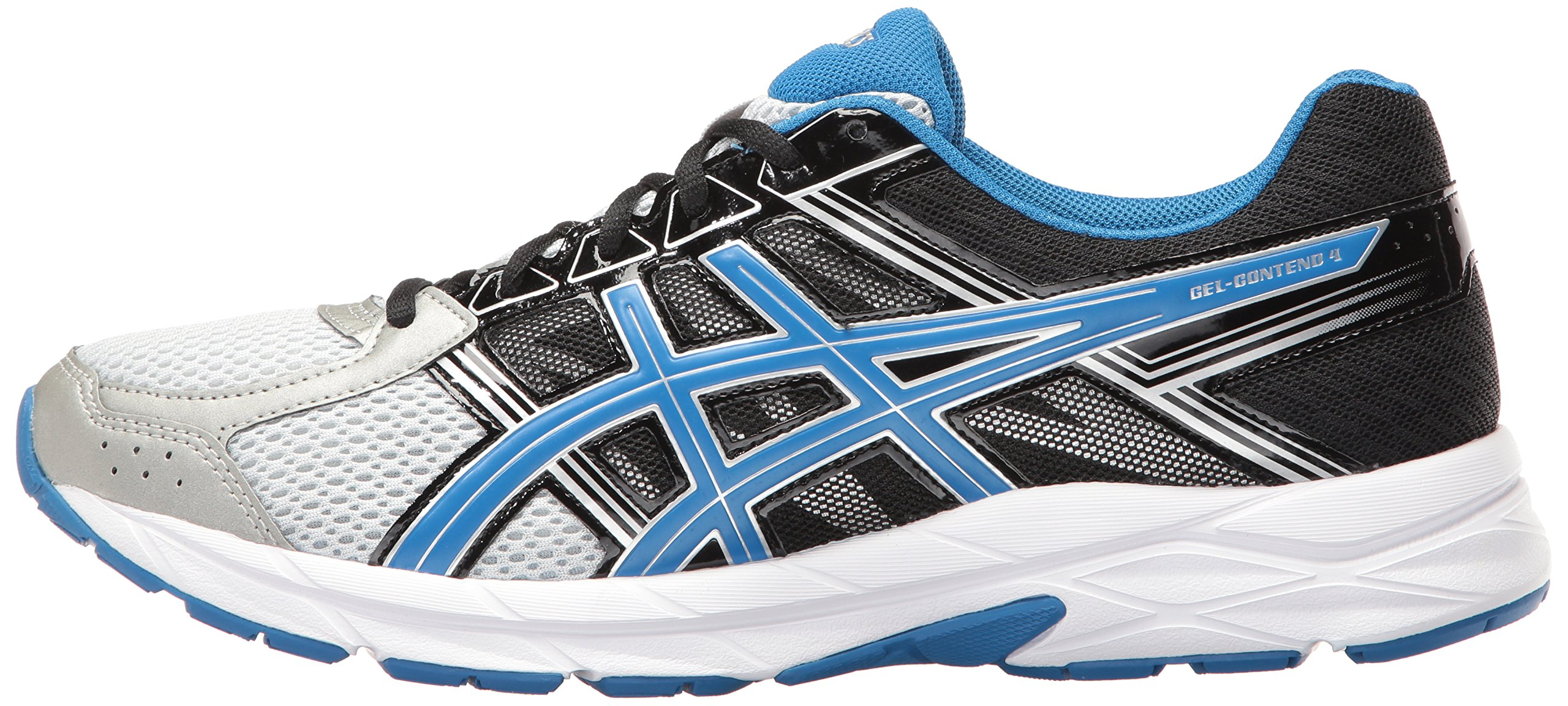 ASICS Men's Gel-Contend 4 Running Shoe, Silver/Classic Blue/Black, 7.5 M US by ASICS (Image #5)